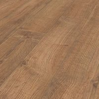 Rostock Natural Oak effect Laminate flooring  1.48m² Pack