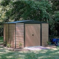 10X8 Woodvale Apex Metal Shed with Assembly Service