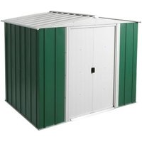 8X6 Greenvale Apex Metal Shed with Assembly Service