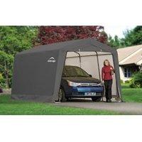 20X10 Shelterlogic Peak Tubular Steel Frame Polyethylene Auto Shelter