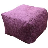 Elite Plain Bean bag cube Mulberry