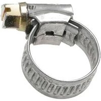 Eliza Tinsley Zinc-plated Steel Worm drive Hose clip (Dia)11mm-16mm Pack of 4