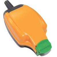 Masterplug 13A Orange Single Outdoor Switched Socket