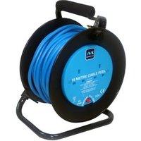 Masterplug 2 socket Cable reel 15m