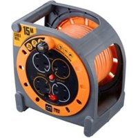 Masterplug Pro Xt 4 Socket 10A Cable Reel (L)15m