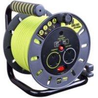 Masterplug 2 socket 10A Cable reel & USB (L)20m