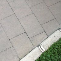 Grey Paving slab (L)900mm (W)600mm