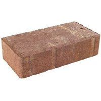 Red Driveway Block paving (L)200mm (W)100mm