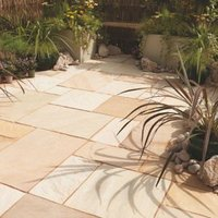 Fossil buff Paving (L)600mm (W)300mm Pack of 85  16.10 m²