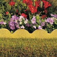 Scalloped Paving Edging Buff  (L)600mm (H)150mm (T)50mm Pack of 48