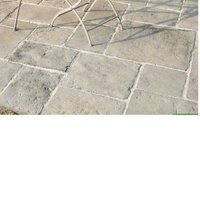 Grey green Old Town Paving slab (L)600 (W)600mm Pack of 22
