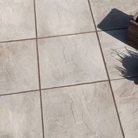 Grey Peak Riven Paving slab (L)450 (W)450mm Pack of 40