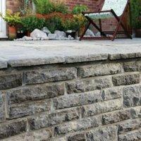 Ancestry Abbey Storm Walling Stone  (L)225mm (W)65mm (T)100mm