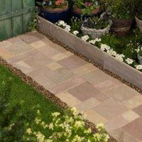 Modac Natural Sandstone Cobble mat (L)500 (W)300mm Pack of 100