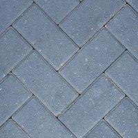 Charcoal Europa Block paving (L)200mm (W)100mm