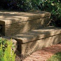 Traditional Stonewood Paving edging Antique brown  (L)600mm (H)250mm (T)40mm
