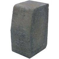 Charcoal Block kerb (L)200mm (W)100mm (T)125mm Pack of 192