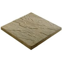 Derbyshire Moorland cream Paving slab (L)450mm (W)450mm