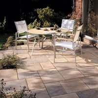 Autumn bronze Old Riven Mixed size paving pack