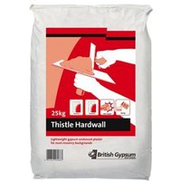 Thistle Hardwall Undercoat plaster 25kg Bag