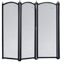 Slemcka Traditional 4 Fold Cast iron Fire screen (H)535mm (W)980mm (D)20mm