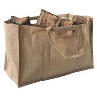 Slemcka Contemporary Jute Bag (H)410mm (D)310mm