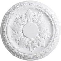 Artex Cavendish Classic Plaster Ceiling rose (Dia)360mm
