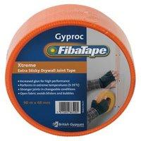 Gyproc FibaTape Xtreme Orange Joint tape (L)90m (W)48mm