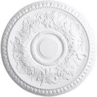 Artex Richmond Traditional Plaster Ceiling rose (Dia)530mm