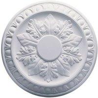 Artex Richmond Traditional Plaster Ceiling rose (Dia)360mm