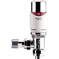 Drayton TRV4 Angled Thermostatic Radiator valve