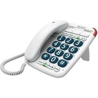 BT 200 big button White Corded Telephone.
