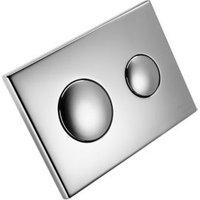 Armitage Shanks Dual-flush Wall-mounted Flushing plate (H)155mm (W)300mm