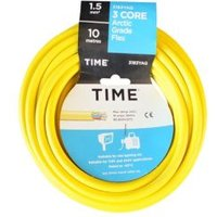 Time 3 Core Arctic Flexible Cable 1.5mm² 3183YA Yellow 10m