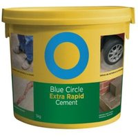 Blue Circle Extra Rapid Cement 5kg Resealable Plastic Tub