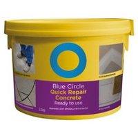 Blue Circle Quick repair Ready mixed Concrete 2.5kg Tub
