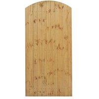 Grange Timber Arch Gate (H)1.8m (W)0.9 m