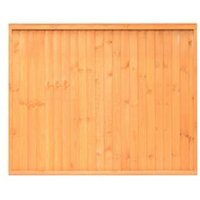 Grange Closeboard Traditional Vertical slat Fence panel (W)1.83 m (H)1.8m  Pack of 4