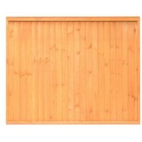 Grange Close Board Traditional Fine Sawn Vertical Slats Fence Panel (W)1.83 M (H)1.5M  Pack of 3