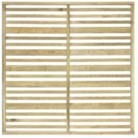 Urban Natural Garden Screen (H)1.8M (W)1.8 M  Pack of 3