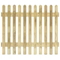 Grange Fencing Profiled Round Top Picket Fence (W)1.8 M (H)1M  Pack of 4