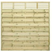 Grange Lille Decorative Horizontal trellis Fence panel (W)1.8 m (H)1.8m  Pack of 5