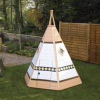 Wigwam 6X4 Playhouse - with Assembly Service