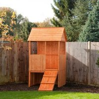 Lookout 5X4 Playhouse - with Assembly Service