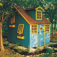 Shire 8x6 Cottage Wooden Playhouse - Assembly service included