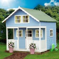 8X9 Lodge Playhouse with Assembly Service