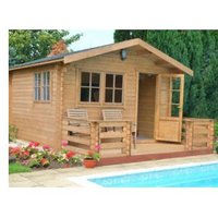 Kinver 34mm Tongue & Groove Timber Log Cabin