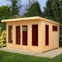 12X10 Miami Gym Shiplap Timber Summerhouse