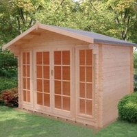 10X12 Epping 28mm Tongue & Groove Timber Log Cabin