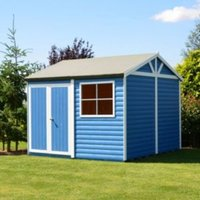 12X12 Mammoth Loglap Timber Shed with Assembly Service